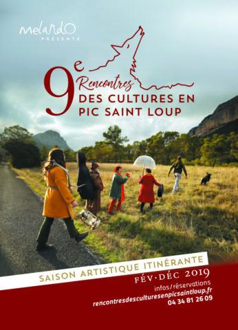 Programme 2019 des Rencontres des Cultures en Pic Saint-Loup