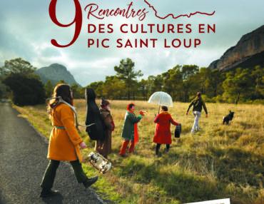Affiche des Rencontres des Cultures en Pic Saint-Loup 2019