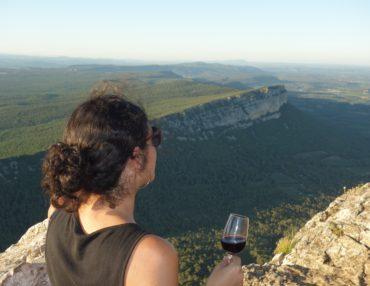Une balade Vins & Saveurs au Pic Saint-Loup. Photo : Jocya Gaillard