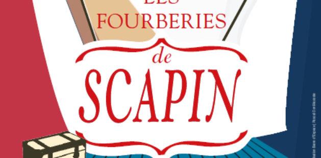 """Affiche """"Fourberies de Scapin"""""""