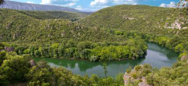 Le fleuve Hérault. Photo : Daniel Delat