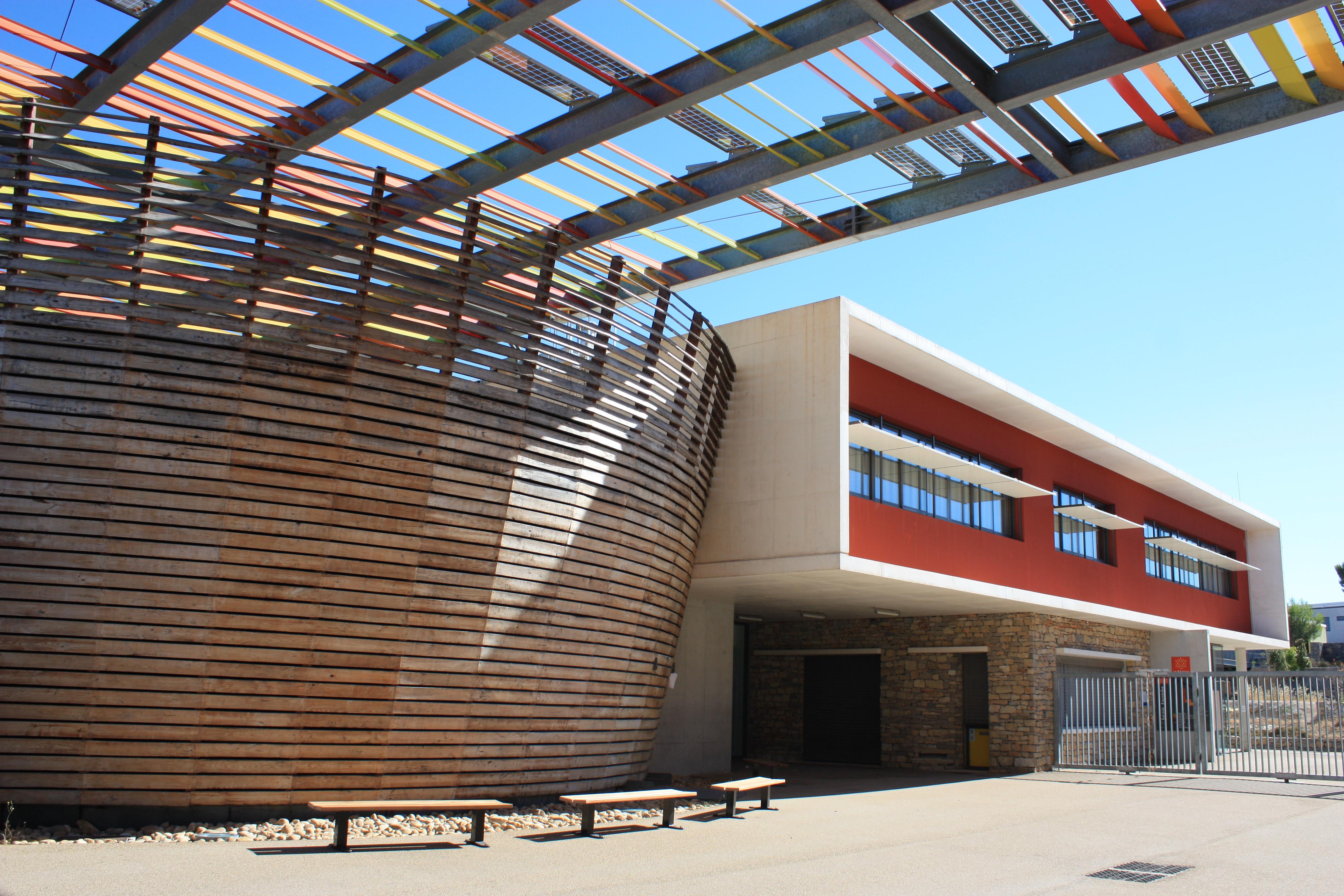 Lycée Jean Jaurès à Saint-Clément-de-Rivière