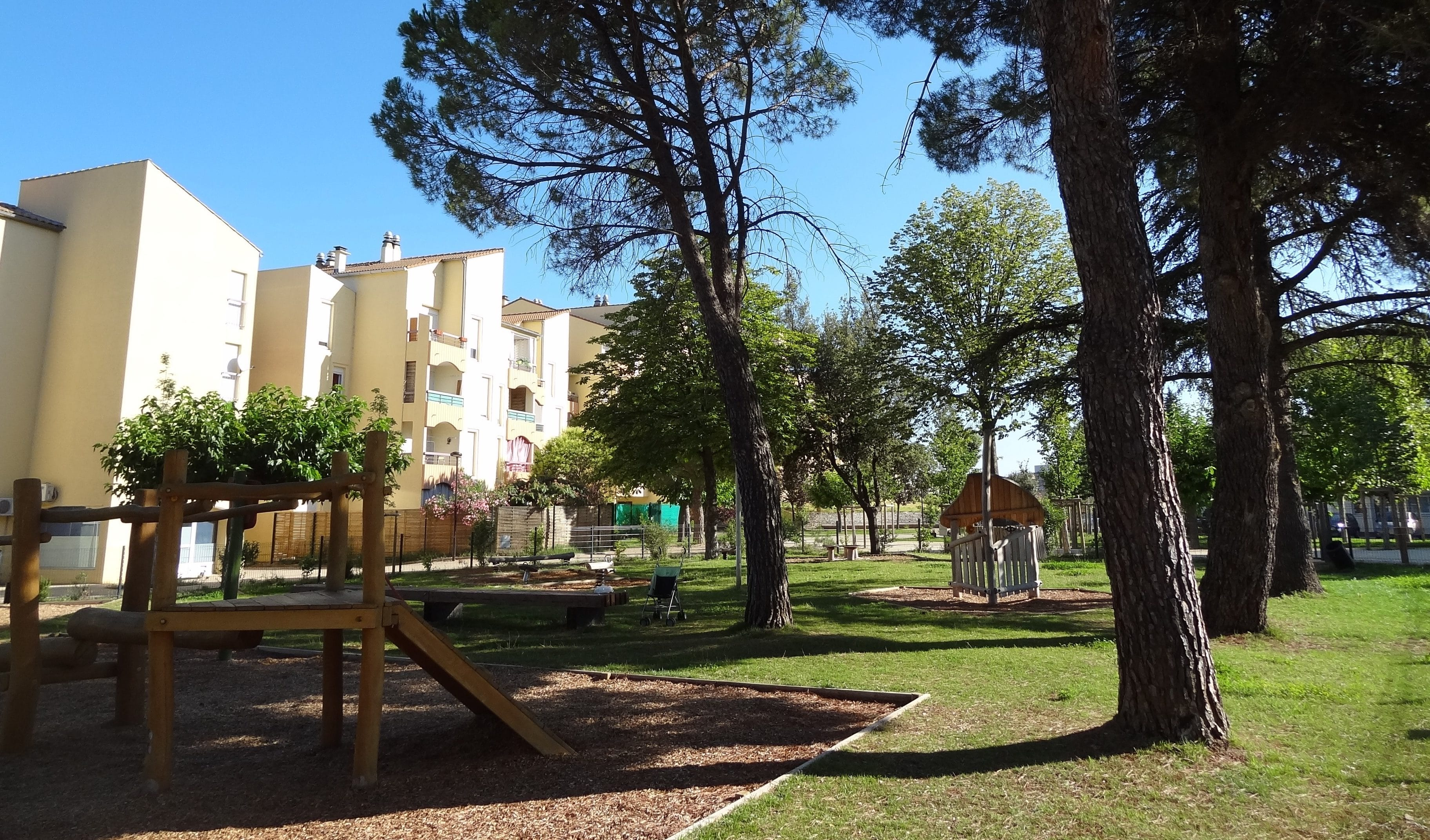 Plan de Cros à Saint-Mathieu-de-Tréviers réaménagé à l'aide d'un fonds de concours. Photo : Christophe Colrat