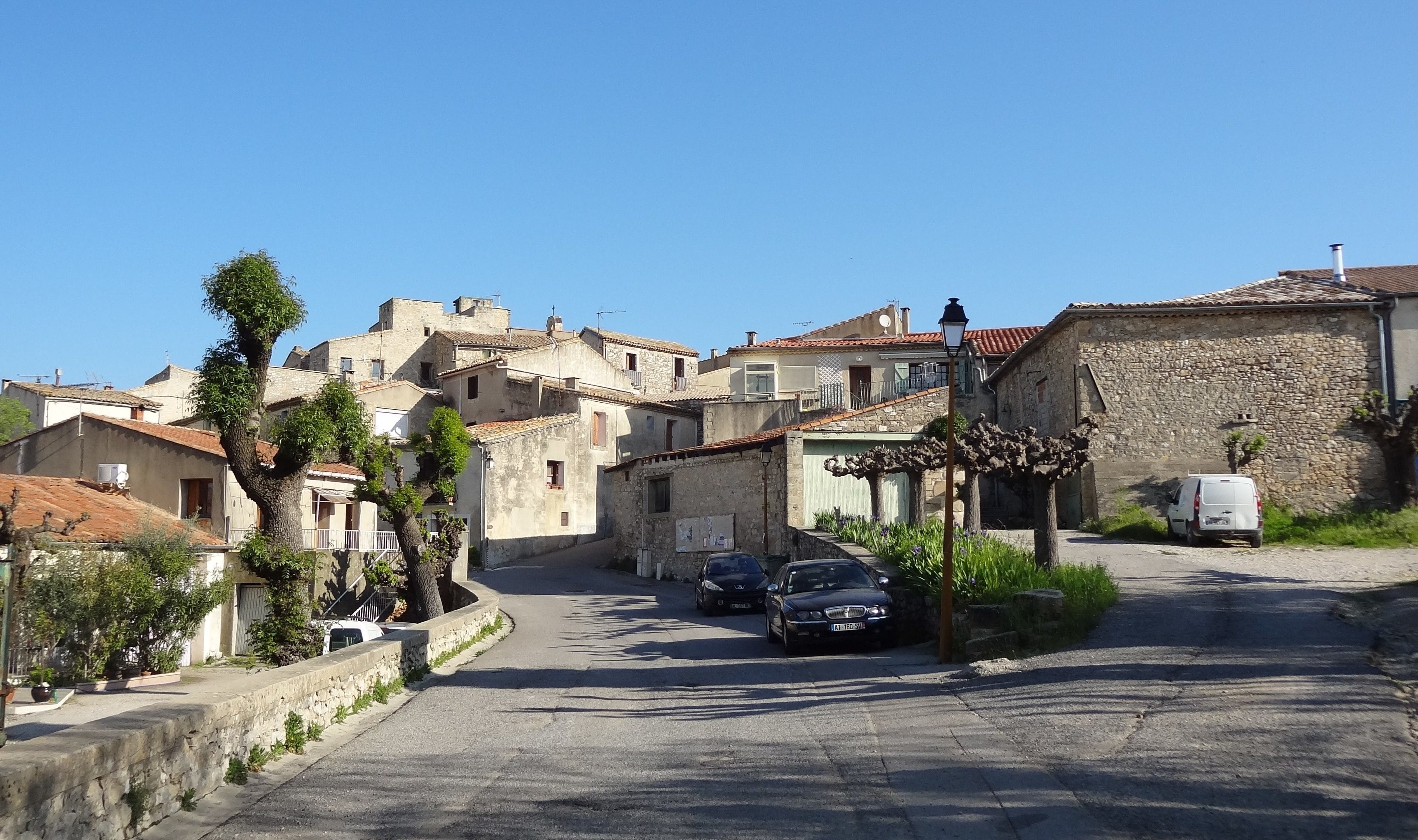 Le village de Saint-Vincent-de-Barbeyrargues. Photo : Christophe Colrat