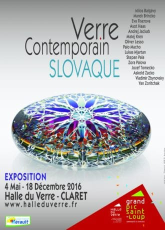 Verre contemporain slovaque