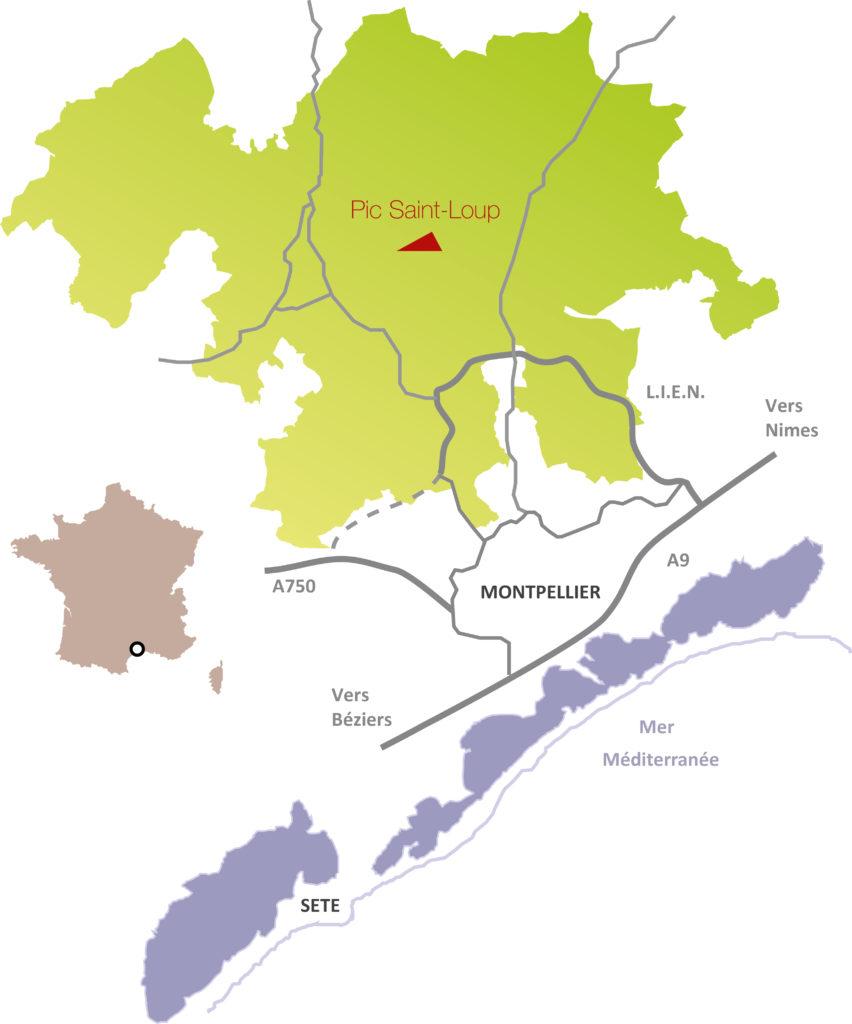 La Communauté de communes et sa localisation