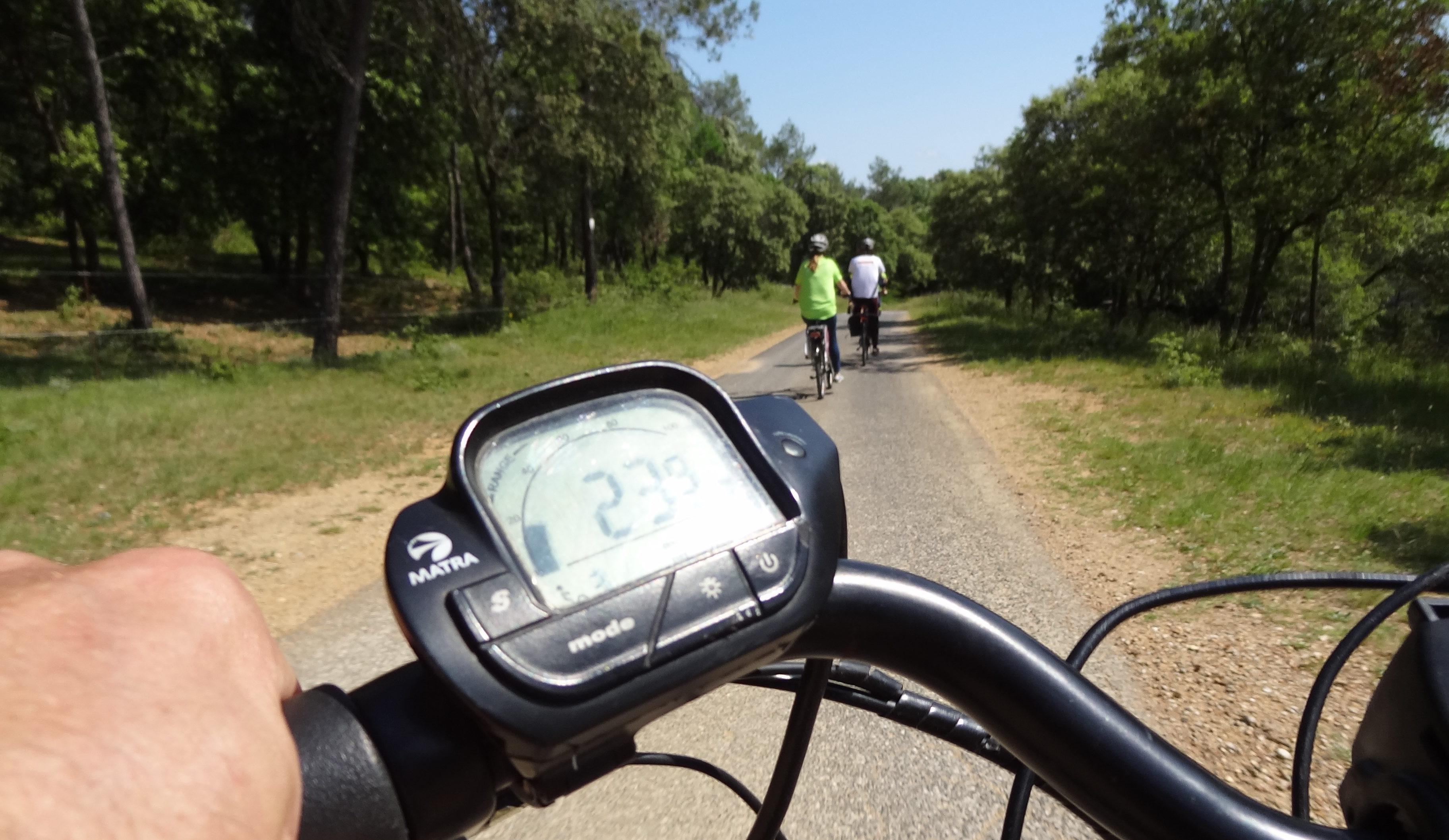 Balade en vélo électrique. Photo : Christophe Colrat