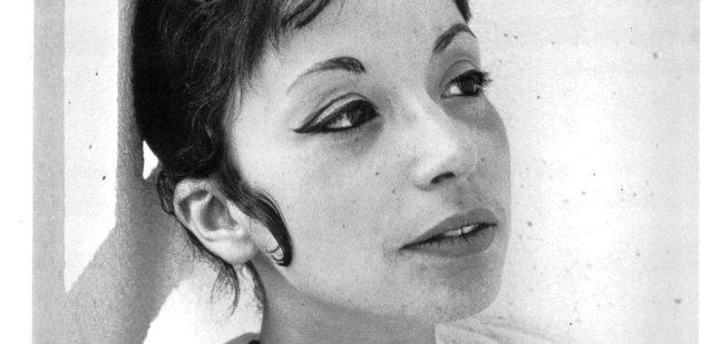 Albertine Sarrazin. Photo : Lucien Clergue