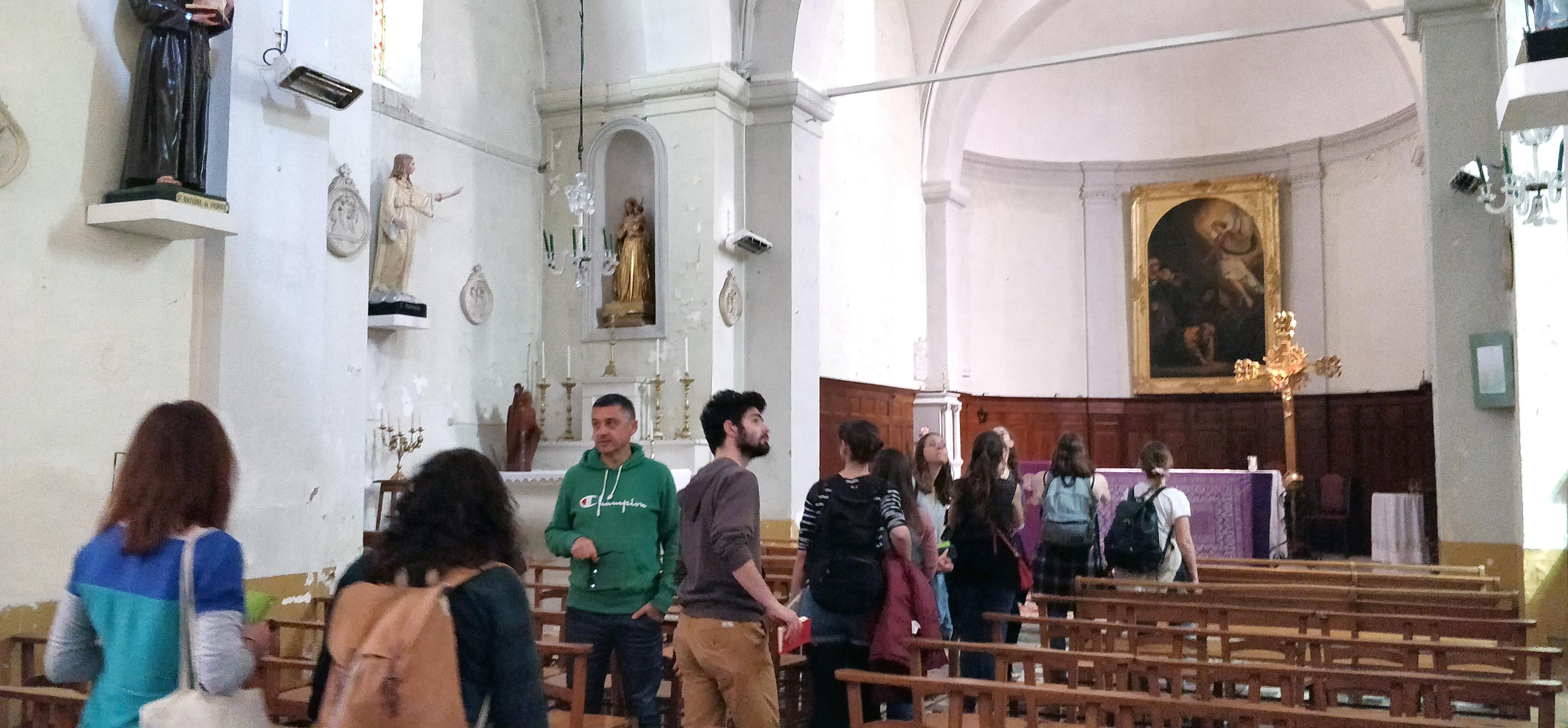 Église Saint-Raphaël de Saint-Mathieu. Photo : Christophe Colrat