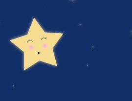 Petite étoile. Affiche