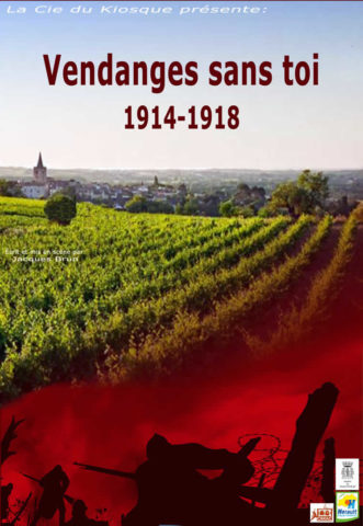 Affiche Vendanges sans toi 1914-1918