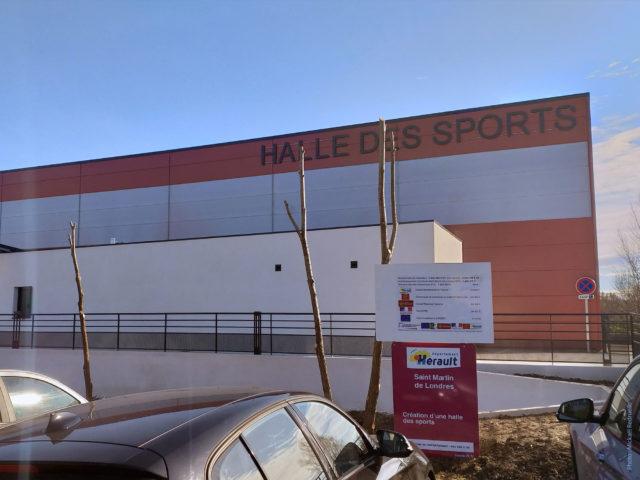 Inauguration de la Halle des Sports