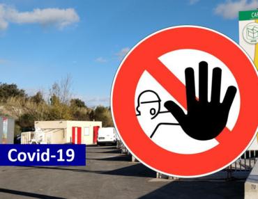 Covid-19 : les déchetteries du territoire sont fermées