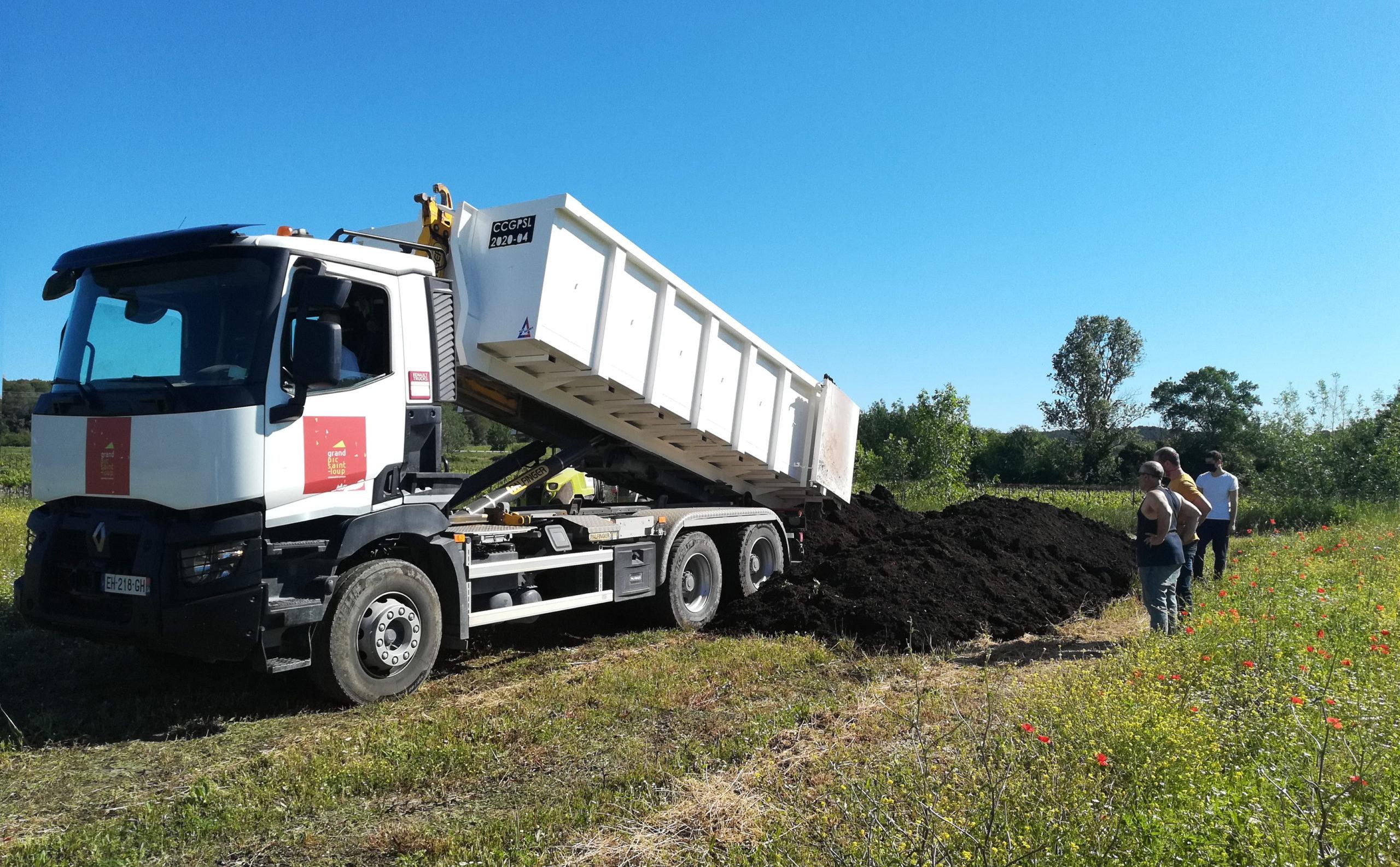 Le projet « Compost » est opérationnel. Photo : Thierry Alignan