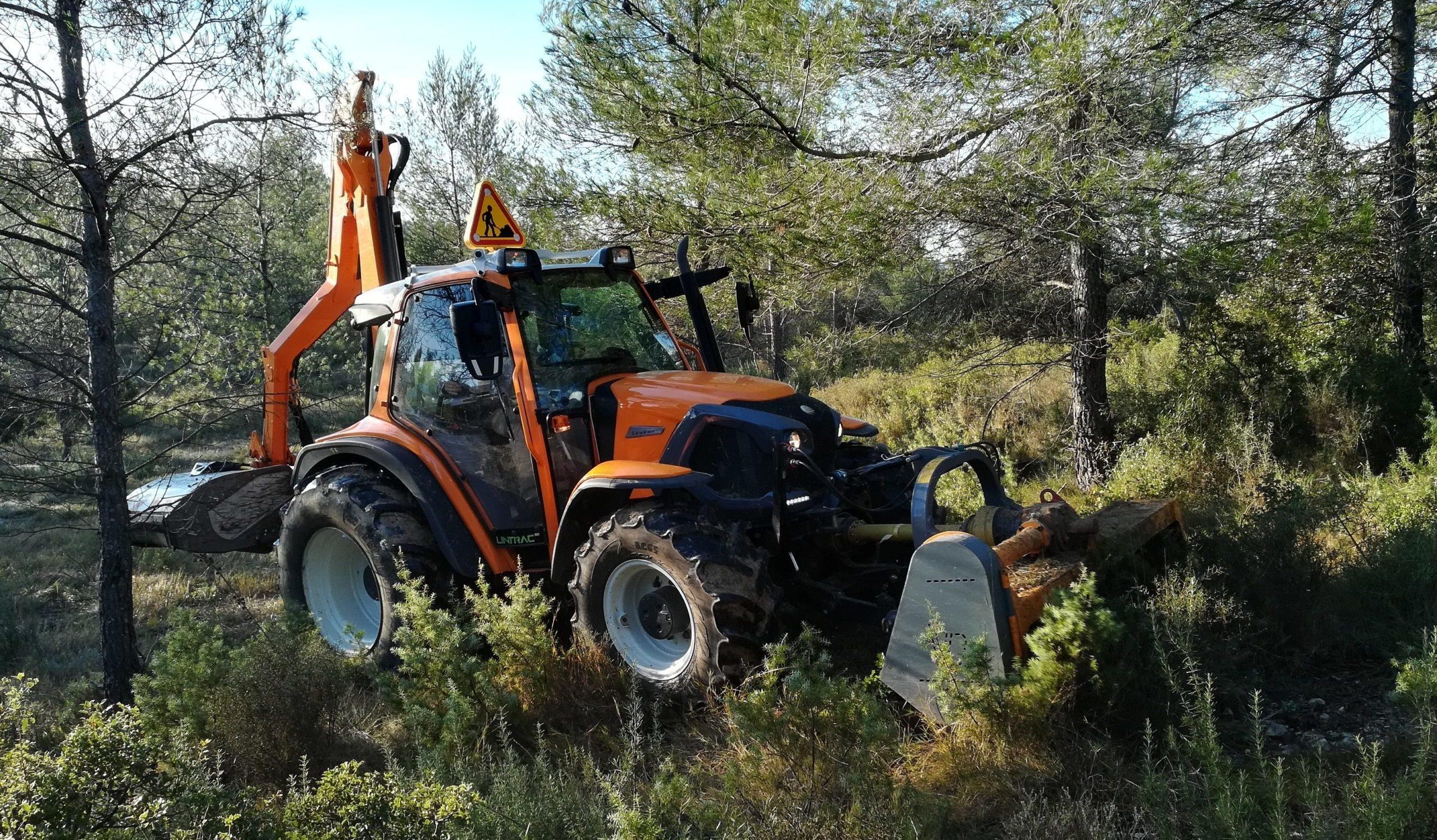 Les travaux forestiers sont désormais réglementés en période estivale. Photo : Thierry Alignan