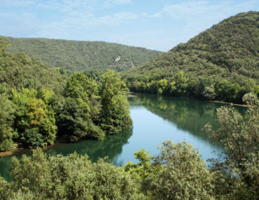 Le fleuve Hérault, au Causse-de-la-Selle. Photo : Christophe Colrat