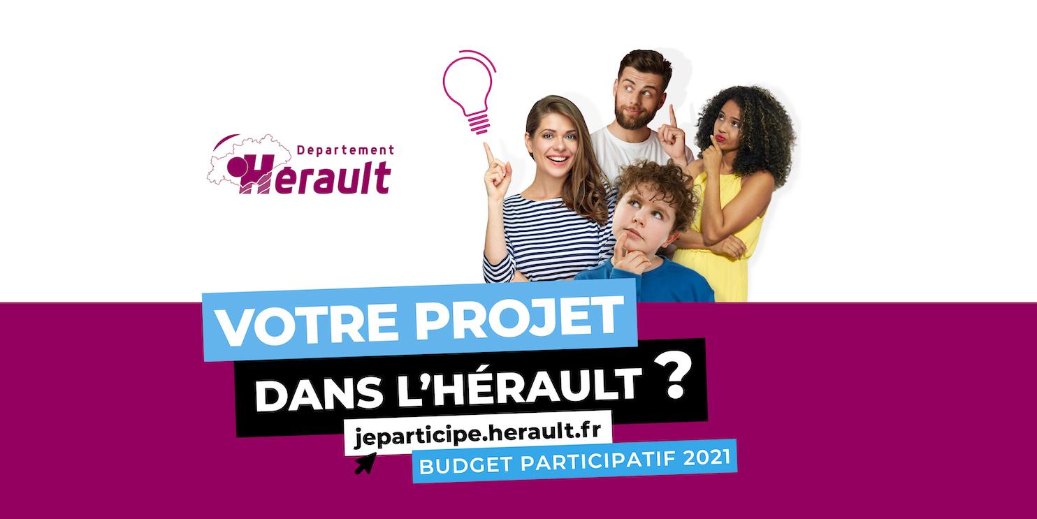 Budget participatif : proposez vos idées, le Département les réalise !