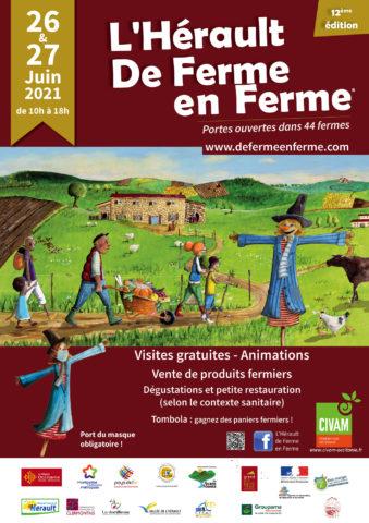 L'Hérault de ferme en ferme 2021