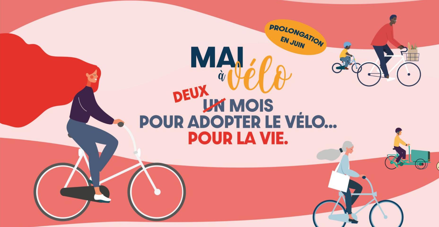 Mai à vélo 2021