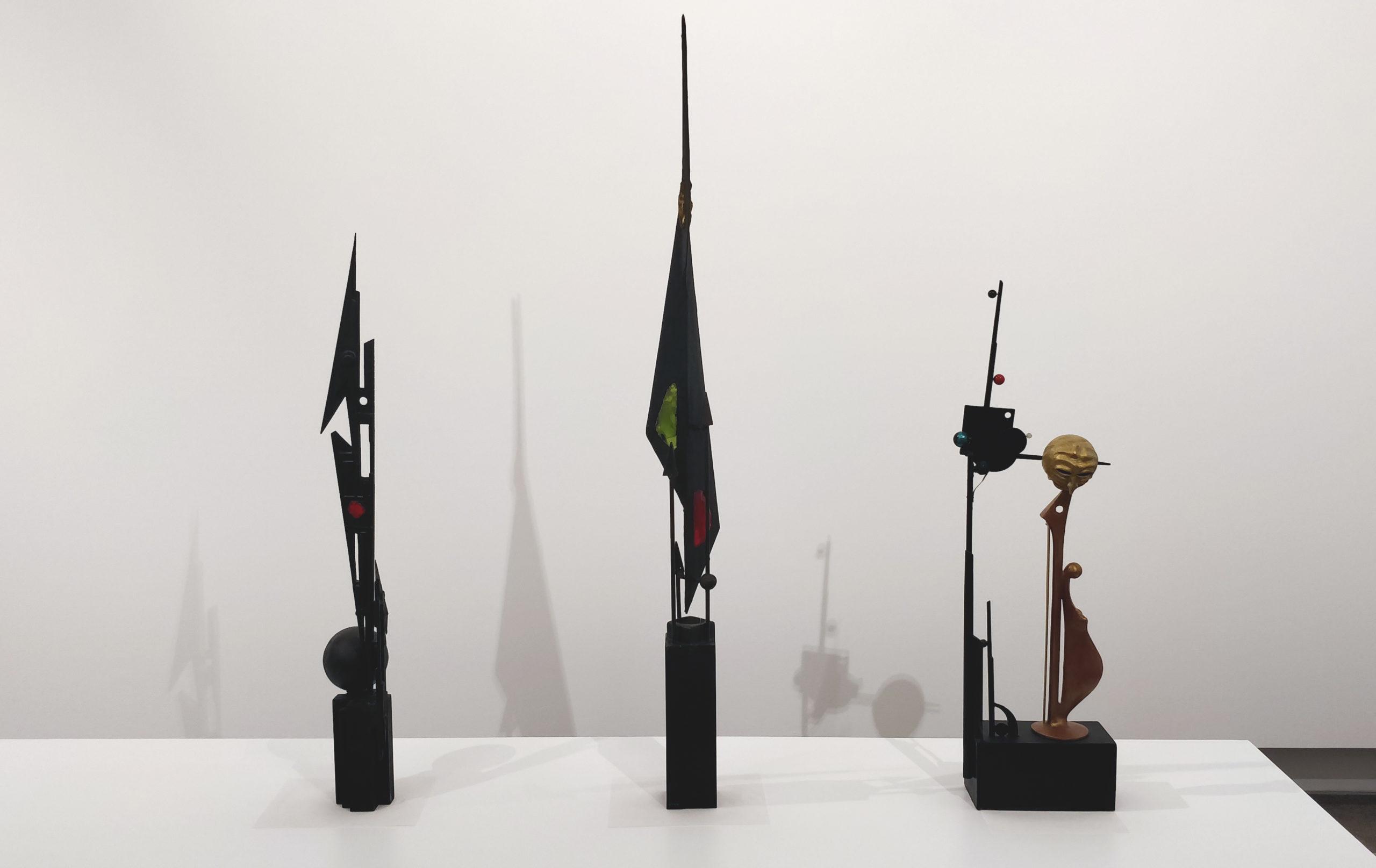 Robert Rocca : œuvres monumentales (maquettes). Photo : Christophe Colrat