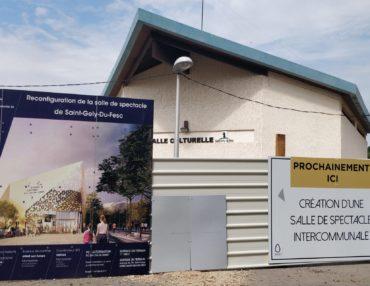 Salle de spectacles intercommunale : les travaux ont démarré. Photo : Christophe Colrat