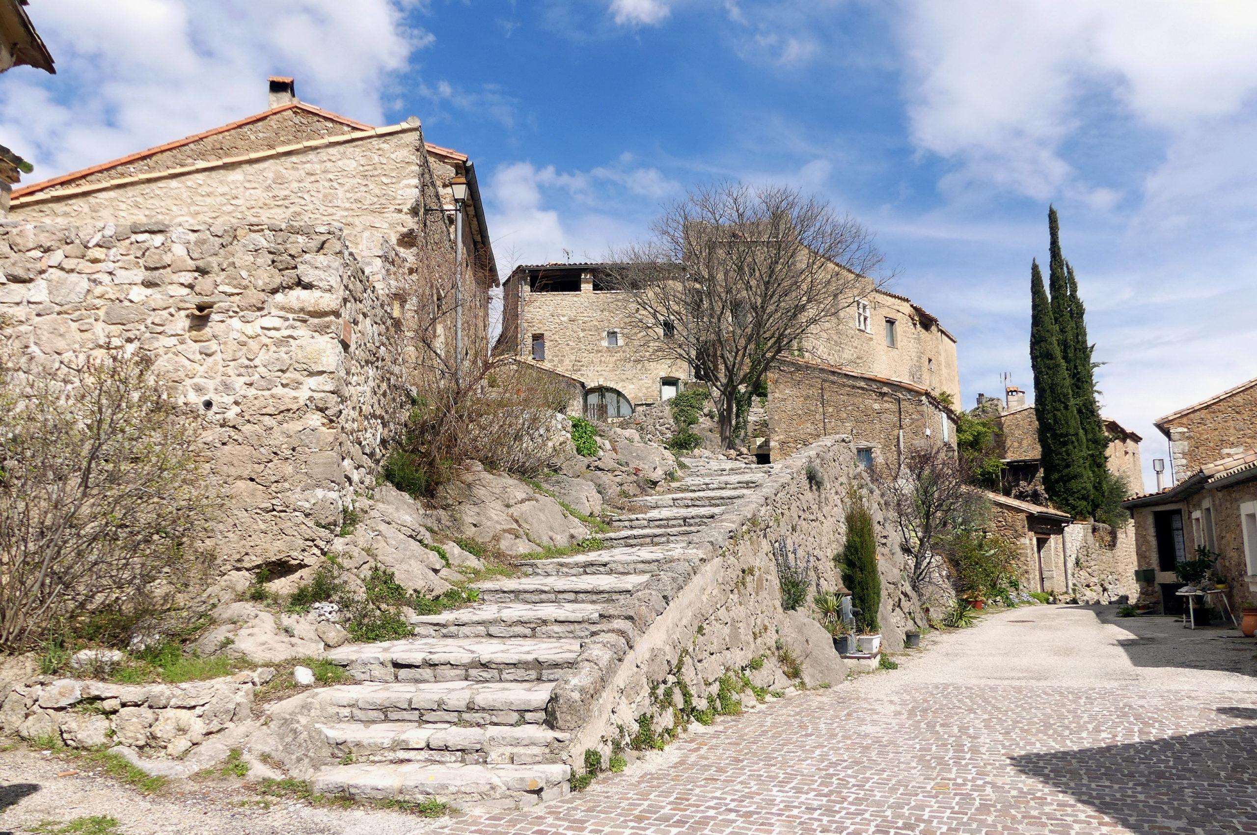 Village de Pégairolles-de-Buèges. Photo : Christophe Colrat